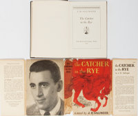 J. D. Salinger. The Catcher in the Rye. Boston: Little, Brown, 1951. First edition stated and i