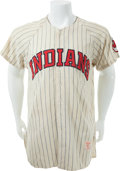 Baseball Collectibles:Uniforms, 1958 Roger Maris Game Worn Cleveland Indians Jersey, MEARS A9....