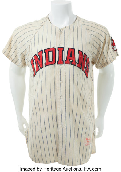 low priced 612b0 3a2b1 1958 Roger Maris Game Worn Cleveland Indians Jersey, MEARS ...