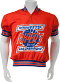 Basketball Collectibles:Uniforms, 1968-69 Minnesota Pipers Game Worn Shooting Jacket....
