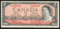 Canadian Currency: , BC-38b $2 1954. ...