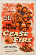 "Movie Posters:War, Cease Fire! (Paramount, 1953). One Sheet (27"" X 41"") 3-D Style.War.. ..."