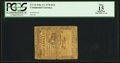 Colonial Notes:Continental Congress Issues, Continental Currency February 17, 1776 $1/2 PCGS Apparent Fine 15.....