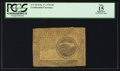 Colonial Notes:Continental Congress Issues, Continental Currency February 17, 1776 $4 PCGS Apparent Fine 15.....