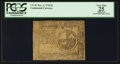 Colonial Notes:Continental Congress Issues, Continental Currency November 2, 1776 $2 PCGS Apparent Very Fine25.. ...