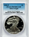 Modern Bullion Coins: , 2000-P $1 Silver Eagle PR70 Deep Cameo PCGS. PCGS Population (679).NGC Census: (1885). Numismedia Wsl. Price for problem ...