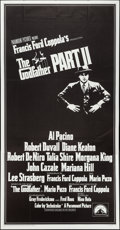 "Movie Posters:Crime, The Godfather Part II (Paramount, 1974). Three Sheet (41"" X 79"").Crime.. ..."