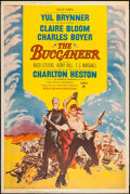 "Movie Posters:Adventure, The Buccaneer (Paramount, 1958). Poster (40"" X 60""). Style Y.Adventure.. ..."