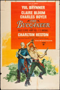 "Movie Posters:Adventure, The Buccaneer (Paramount, 1958). Poster (40"" X 60""). Style Z.Adventure.. ..."