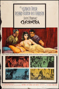 "Movie Posters:Historical Drama, Cleopatra (20th Century Fox, 1964). Poster (40"" X 60"") Style Y.Historical Drama.. ..."