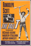 "Movie Posters:Western, The Tall T (Columbia, 1957). Poster (40"" X 60""). Western.. ..."