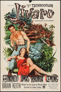 "Movie Posters:Adventure, Jivaro (Paramount, 1954). One Sheet (27"" X 41""). Adventure.. ..."