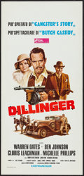 """Movie Posters:Crime, Dillinger & Others Lot (Fida, 1974). Italian Locandina (13"""" X 27""""), One Sheets (3), & International One Sheet (27"""" X 41""""). C... (Total: 5 Items)"""