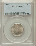 Liberty Nickels: , 1892 5C MS63 PCGS. PCGS Population (143/315). NGC Census: (97/222).Mintage: 11,699,642. Numismedia Wsl. Price for problem ...