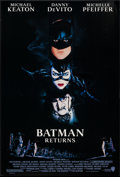 "Movie Posters:Action, Batman Returns (Warner Brothers, 1992). One Sheet (27"" X 40"") SSAdvance & Regular. Action.. ... (Total: 2 Items)"