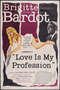 "Movie Posters:Sexploitation, Love is My Profession (Kingsley International, 1959). Poster (40"" X60""). Sexploitation.. ..."