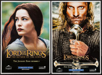 """The Lord of the Rings: The Return of the King (New Line, 2003). Posters (2) (13.5"""" X 20"""") DS Advance. Fantasy..."""