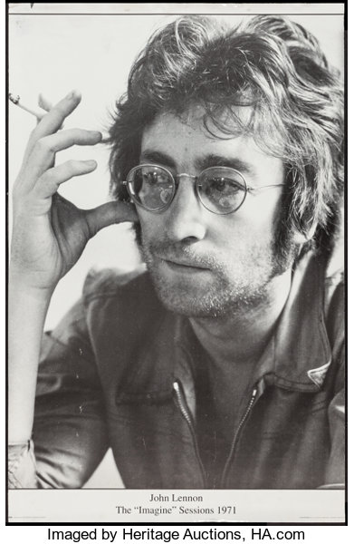 John Lennon And Other Lot Gb Posters 1971 Personality Posters Lot 54261 Heritage Auctions