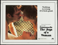"""Emmanuelle: The Joys of a Woman & Others Lot (Paramount, 1976). Half Sheets (2) (22"""" X 28"""") & One Shee..."""