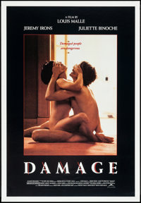 "Damage & Others Lot (New Line Cinema, 1992). One Sheets (5) (23"" X 35"", 27"" X 40""), Uncut Lo..."