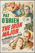 """Movie Posters:Sports, The Iron Major (RKO, 1943). One Sheet (27"""" X 41"""") Style A. Sports.. ..."""