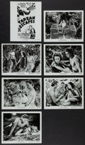 "Movie Posters:Adventure, Tarzan Escapes (MGM, R-1954). Photos (21) (8"" X 10""). Adventure..... (Total: 21 Items)"