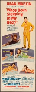 "Movie Posters:Comedy, Who's Been Sleeping in My Bed? (Paramount, 1963). Insert (14"" X 36""). Comedy.. ..."