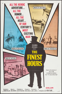 """The Finest Hours (Columbia, 1964). One Sheet (27"""" X 41""""). Documentary"""