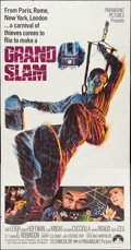 """Movie Posters:Action, Grand Slam & Other Lot (Paramount, 1968). Three Sheets (2) (41"""" X 79""""). Action.. ... (Total: 2 Items)"""