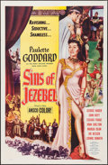 "Movie Posters:Historical Drama, Sins of Jezebel (Lippert, 1953). One Sheet (27"" X 41""). HistoricalDrama.. ..."