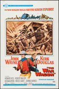 "Movie Posters:Western, The War Wagon (Universal, 1967). One Sheet (27"" X 41""). Western.. ..."