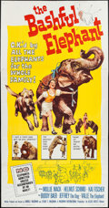 "Movie Posters:Adventure, The Bashful Elephant & Others Lot (Allied Artists, 1962). ThreeSheets (3) (41"" X 79"") & Folded Mailer Poster (10"" X 13"" fol...(Total: 4 Items)"