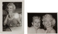 Movie/TV Memorabilia:Autographs and Signed Items, A Marilyn Monroe Signed Black and White Snapshot, 1953.... (Total: 2 Items)