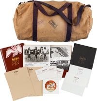 Led Zeppelin Swan Song Documents and Memorabilia Group (c. 1980)