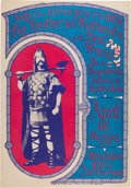 Music Memorabilia:Posters, Big Brother and the Holding Company/New Breed Stockton CivicAuditorium Concert Poster (S&P Co., 1967)....