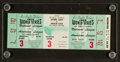 Baseball Collectibles:Tickets, 1959 World Series Game 3 Full Ticket....