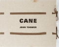 Books:Fine Press & Book Arts, [Arion Press]. Jean Toomer. Cane. Arion Press, 2000. Limitedto 400 copies of which this is number 124. Signed...