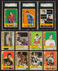 Hockey Cards:Sets, 1972 Topps Hockey High Grade Complete Set (176). ...