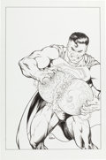 Original Comic Art:Covers, T. D./Nelson Superman Unspecified Cover Original Art (DC, ca.2000)....