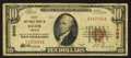 National Bank Notes:Oregon, Salem, OR - $10 1929 Ty. 1 First NB Ch. # 3405. ...