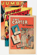 Golden Age (1938-1955):Miscellaneous, Comic Books - Assorted Golden Age Group (Various Publishers, 1942-58) Condition: Average FN except as noted.... (Total: 8 Comic Books)
