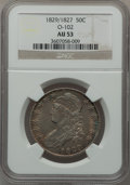 Bust Half Dollars, 1829/1827 50C O-102, R.2 AU53 NGC. NGC Census: (14/119). PCGSPopulation (20/100). Numismedia Wsl. Price for problem free ...