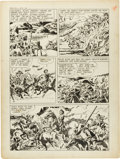 "Original Comic Art:Panel Pages, Jack Kirby and Joe Simon Boys' Ranch #4 ""The Bugle Blows atBloody Knife"" Page 2 Original Art (Harvey, 1951)...."