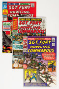 Silver Age (1956-1969):War, Sgt. Fury and His Howling Commandos Annual #1-4 Group (Marvel, 1965-68).... (Total: 4 Comic Books)