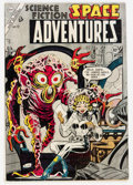 Golden Age (1938-1955):Science Fiction, Space Adventures #12 (Charlton, 1954) Condition: VG....