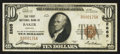National Bank Notes:Oregon, Baker, OR - $10 1929 Ty. 1 The First NB Ch. # 2865. ...