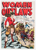 Golden Age (1938-1955):Crime, Women Outlaws #2 (Fox Features Syndicate, 1948) Condition: VG....