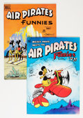 Bronze Age (1970-1979):Alternative/Underground, Air Pirates Funnies #1 and 2 Group - Signed by Dan O'Neill (Hell Comics Group, 1971) Condition: Average VF+.... (Total: 2 Comic Books)