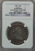 Early Half Dollars, 1805 50C O-107, R.5 -- Improperly Cleaned -- NGC Details. VF. NGCCensus: (0/0). PCGS Population (0/3). ...
