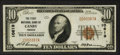National Bank Notes:Oregon, Canby, OR - $10 1929 Ty. 1 The First NB Ch. # 10619. ...
